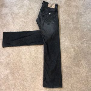 2nd twin pair of black True Religion Jeans!
